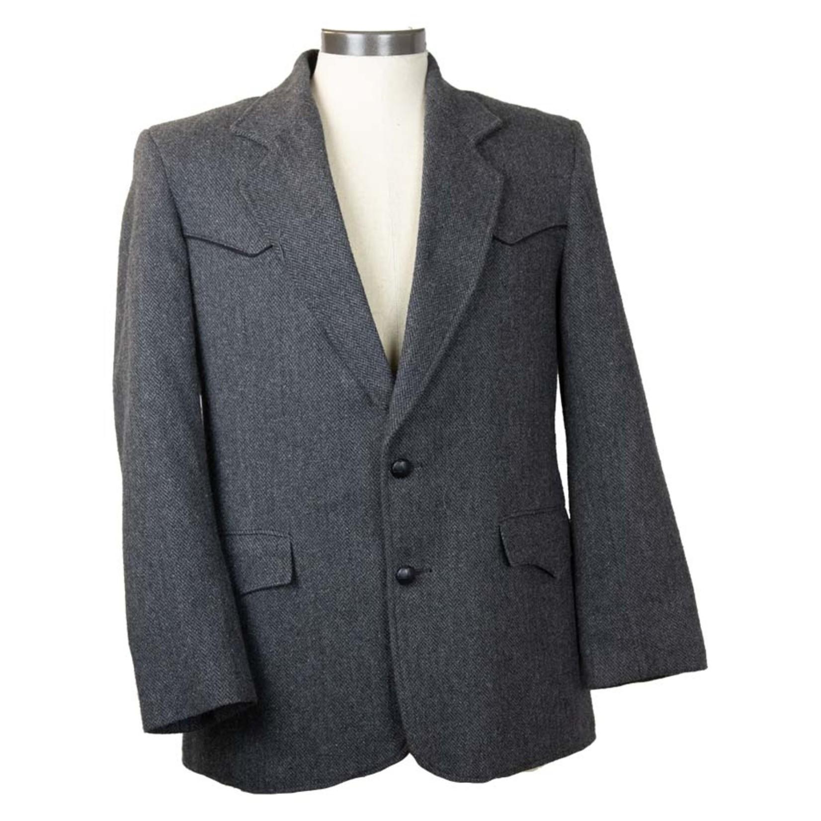 Pioneer Suits Polyester Wool Blend Vintage Suit Jacket - Size 40 - #17