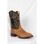Tony Lama Tony Lama Peanut Brittle Smooth Ostrich TX6009 Cowboy Boot