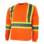 Ganka T-Shirt Long Sleeve 10/4 JOB Quick Dry Reflective Stripe Radio 25-400