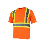 Ganka T-Shirt Short Sleeve 10/4 JOB Quick Dry Reflective Stripe 25-400-OR