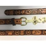 Kids Leather Western Belts