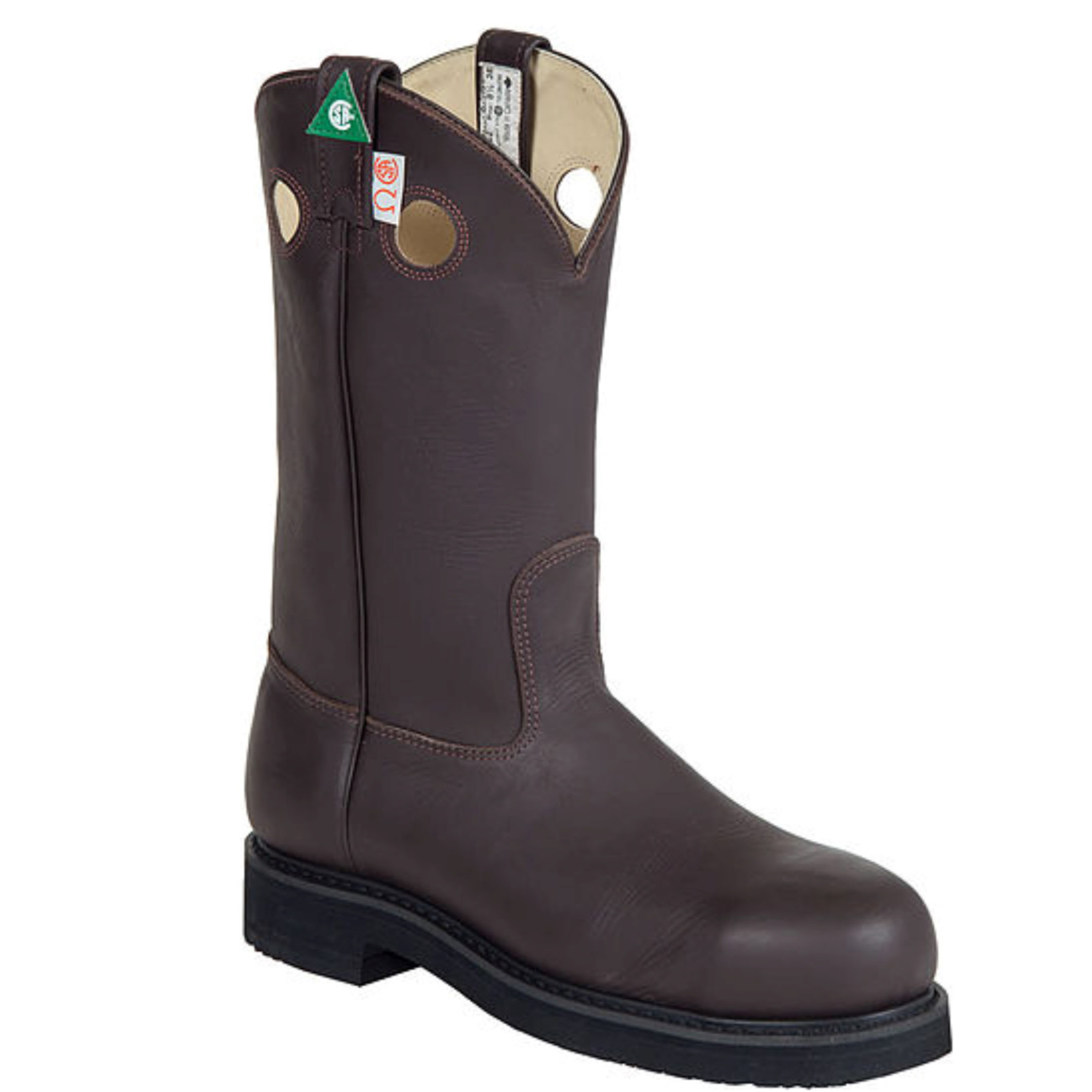 Canada West Canada West CSA Men's Cowboy Steel Toe Boot 5252 3E