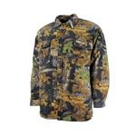 Gks Gks Kids Real Tree Fleeced Lined Snap jacket 88-2000-1-JR-CAM Camo