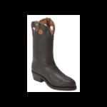 Boulet Boulet Mens Steel Toe Grasso Black Roper boot 8119