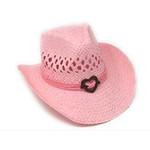 Vamuss Straw Cowboy Hat Heart Conch Shapeable Brim CS60-70