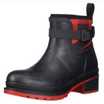 Muck Muck Women's Liberty Ankle Rubber Boot Red And Black Plaid LWKR-6PLD