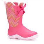 Muck Muck Kid's Halo Prints Boot Multi-Season Pink Ballerina 100% Waterproof KHL-4WAV