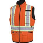 Pioneer Hi Vis Reversible Insulated Safety Vest #6688 (V1022450)