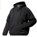 Tough Duck Tough Duck  insulated Hooded Jersey Bomber Sweater Jacket i474