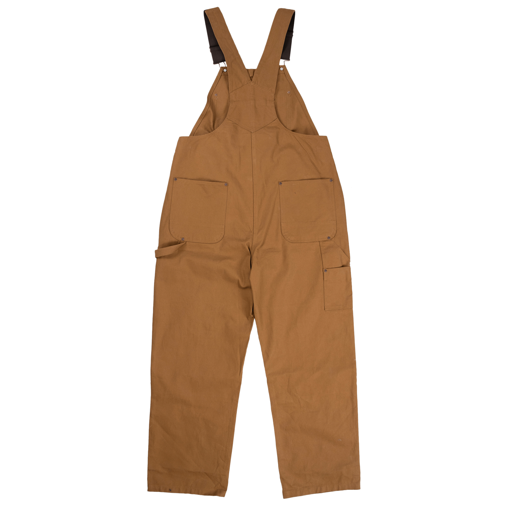Tough Duck Tough Duck Unlined Bib Canvas Brown Overall i198