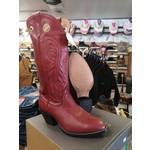 Alberta Boots Alberta Boots Women's Red Cowboy Boot - 307HBR - Size 8