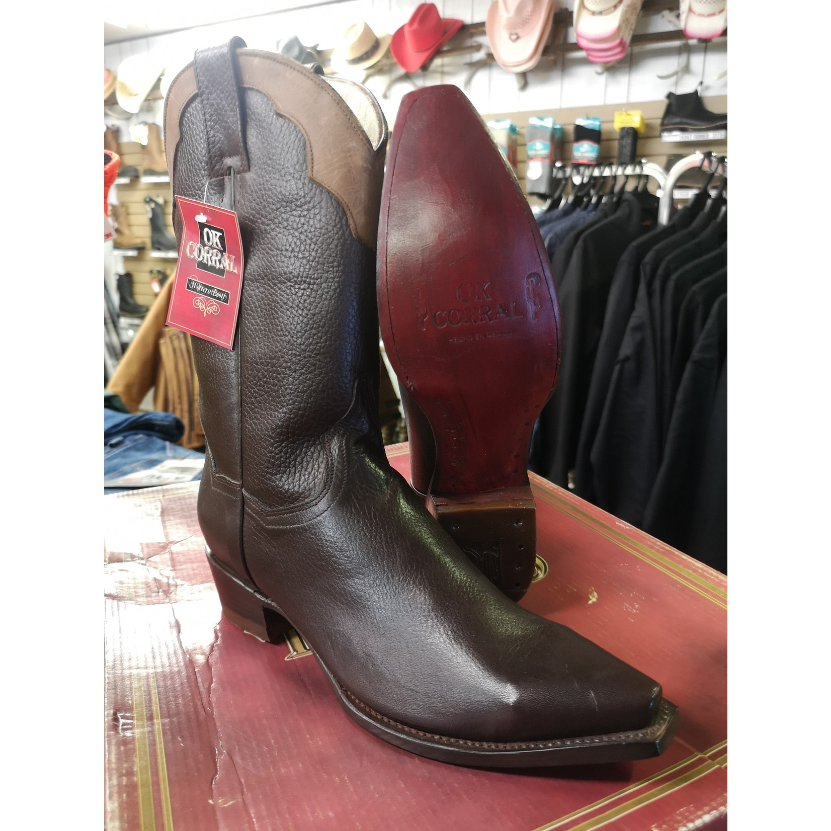OK Corral Women's Point Toe Cowboy Boot - Cristina - Size 8.5
