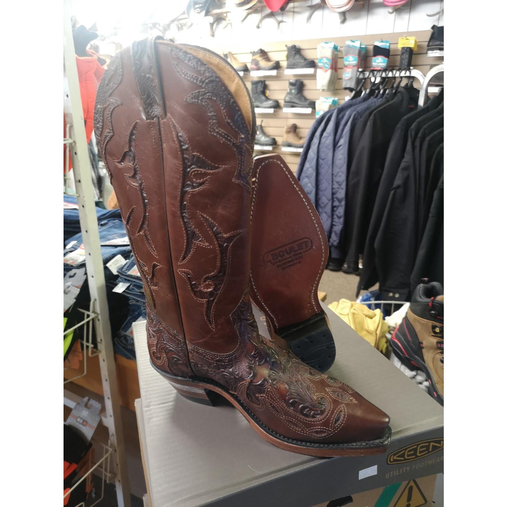 Boulet Boulet Women's Snip Toe Cowboy Boots - 1643 - Width C