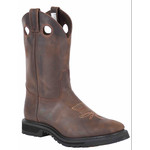 Canada West Canada West Brahma boot Spongy Ropers lava sole Square Toe #8120