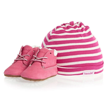 Timberland Timberland Infant's Crib Booties with Hat - TB09680 R
