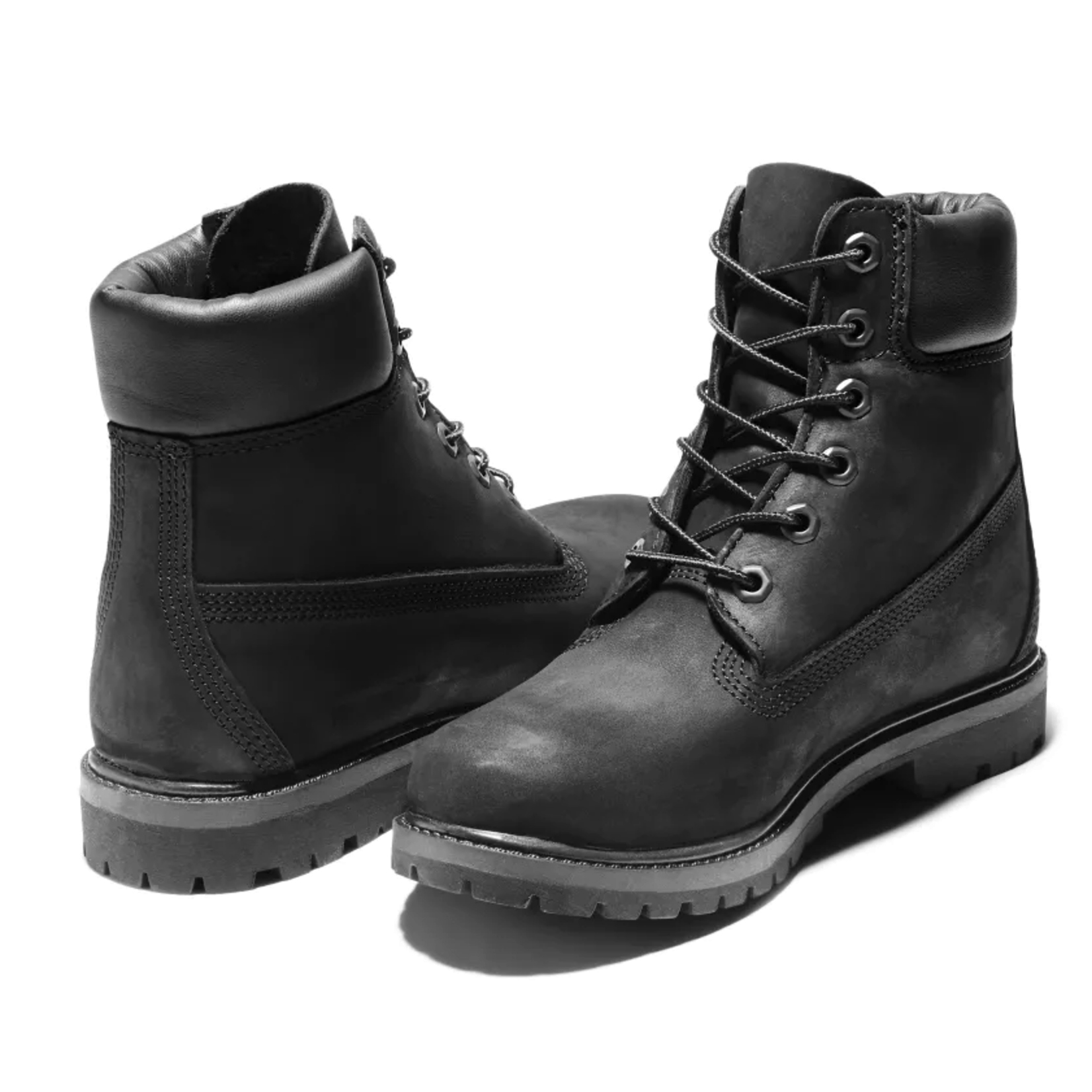 "Timberland Timberland Women's Premium 6"" Waterproof Boots - Black - 08658A 001"