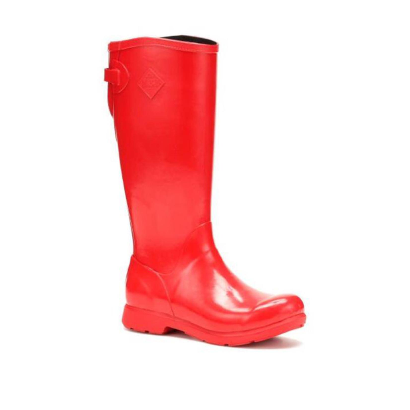 Muck Muck Women's Bergen Tall Red Rubber Boot - WBT-600