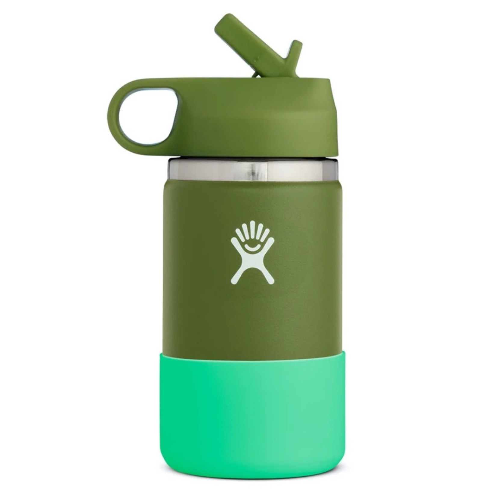 Hydro Flask Hydro Flask 12 oz. Kids Wide Mouth Olive Insulated Bottle