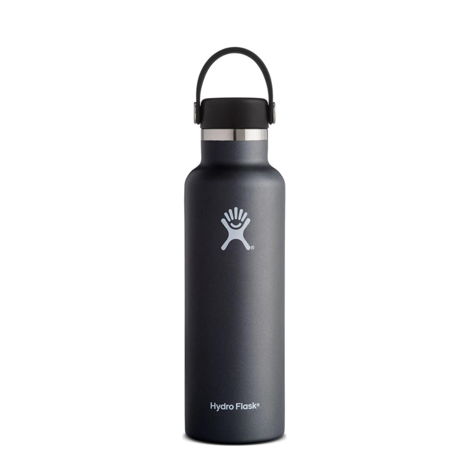 Hydro Flask Hydro Flask 18 oz. Standard Mouth w/ Flex Cap - Black
