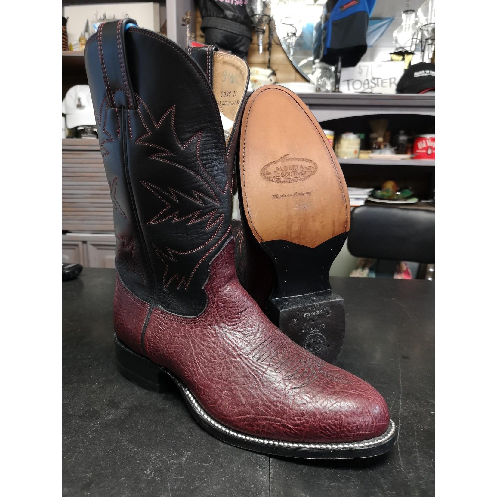 Alberta Boots Alberta Boots Men's Cowboy Boot - 3039-TB - SIZE 8.5 EE
