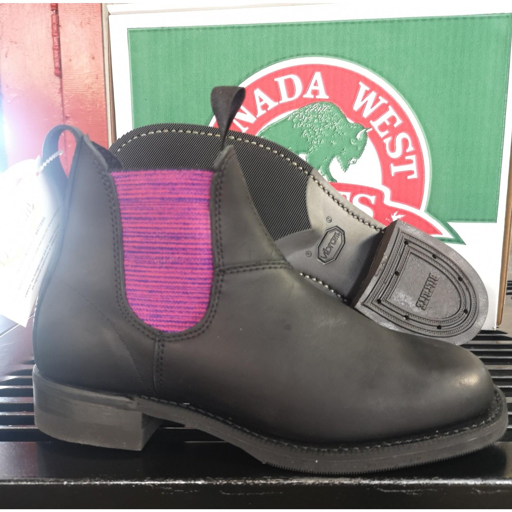 Canada West Canada West Ladies Romeo Boot Black 6798 C