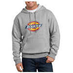 Dickies Dickies Relaxed Fit Logo Fleece Hoodie, Heather Gray TW45AHG