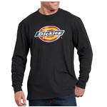 Dickies Dickies Long Sleeve Regular Fit Icon Graphic T-Shirt Black WL45AABK
