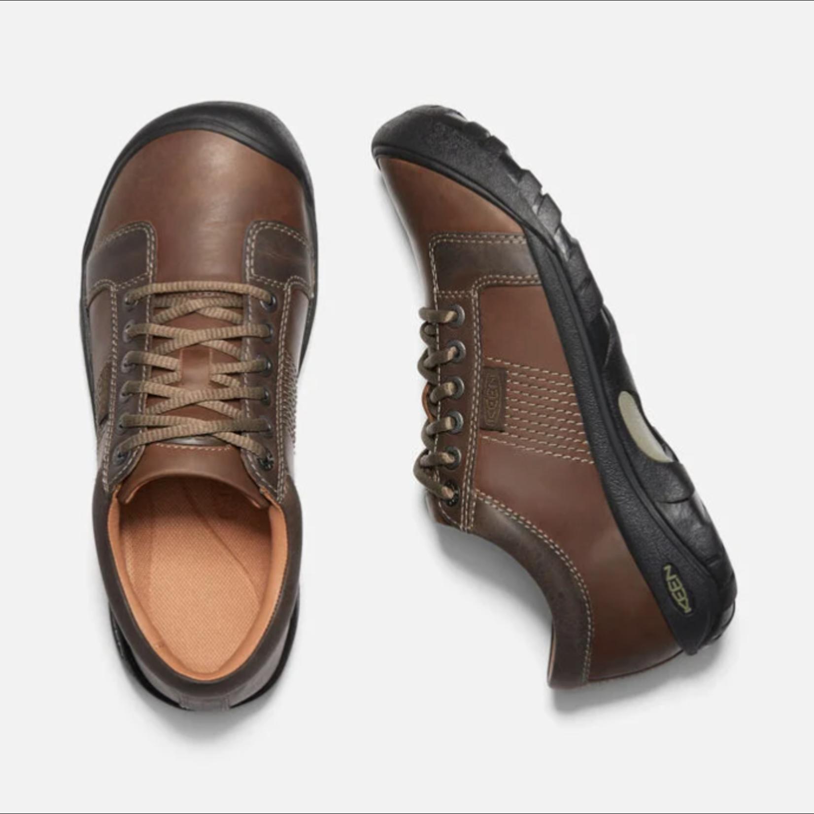 Keen Keen Men's Austin Brown Leather Shoe 1007722