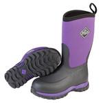 Muck Muck Kids/Youth Rugged II RG2-500 Black/Purple