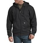 Dickies Dickies Men's Fleece Full Zip Hoodie - Dark Heather Gray - TW291