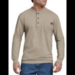 Dickies Dickies Men's Long Sleeve Heavyweight Henley Shirt - WL451