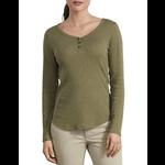 Dickies Dickies Women's Long Sleeve Henley Shirt - FL097
