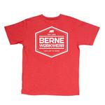 Berne Berne Men's Shield Logo T-Shirt Red BSM11DRR