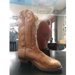 Boulet Boulet Mens Tan Round Toe Cowboy Boot 9045 5E
