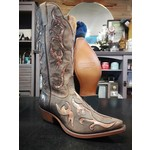 Rugged Country Women's Brown Pointed Toe Western Boot C 0836