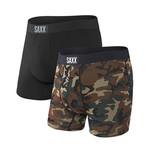 SAXX Saxx Vibe 2 Pack Black/Camo SXPP2V WDP