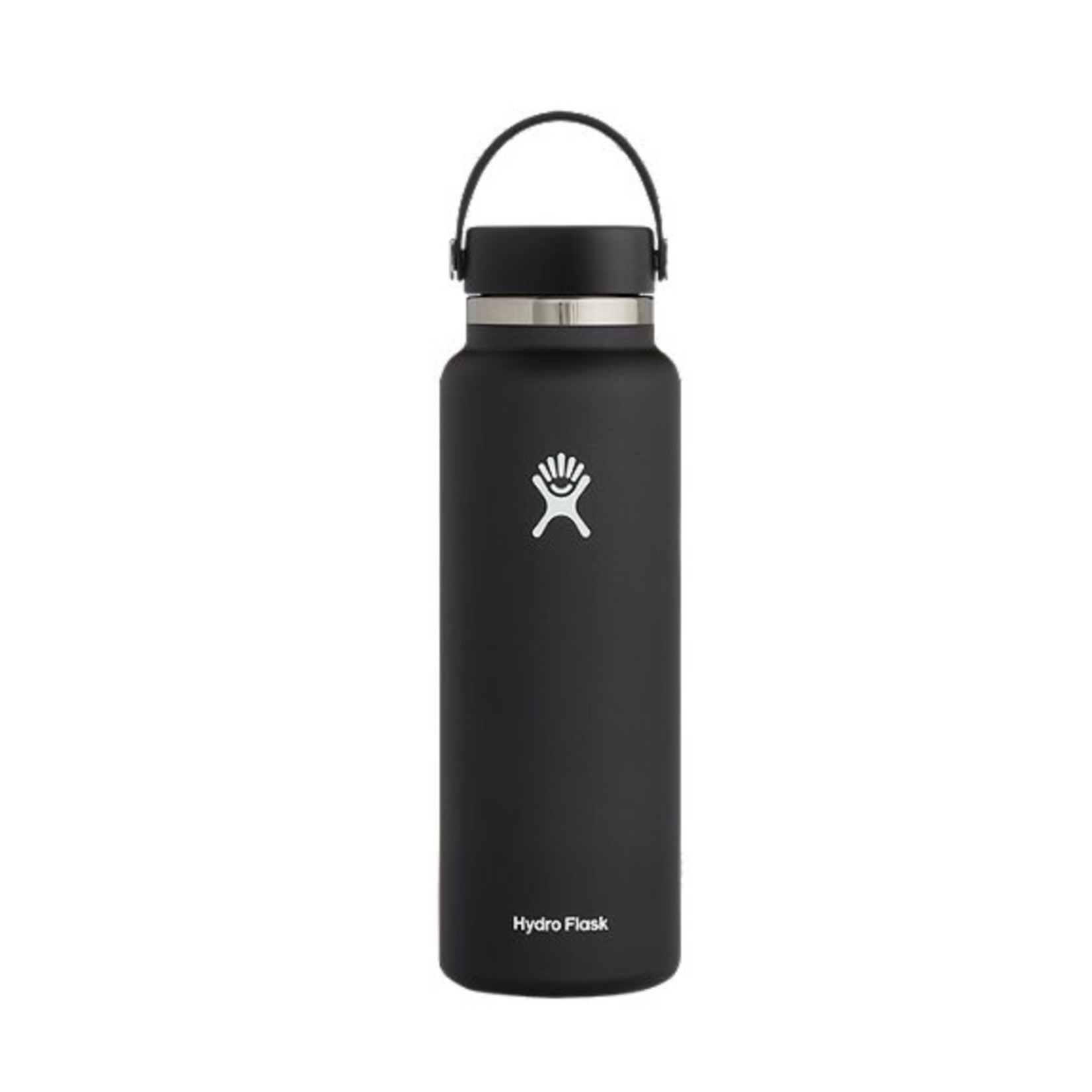 Hydro Flask Hydro Flask 40 oz. Wide Mouth w/ Flex Cap- Black