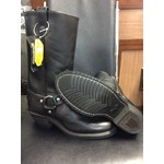 Canada West Canada West Women's Black Leather Biker Boot 7627 - SIZE 7.5C