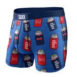 SAXX SAXX Vibe Boxer Brief Blue Bud Koozies BU5