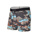 SAXX Saxx Quest Boxer Brief with Fly MOB - Black Mountainscape