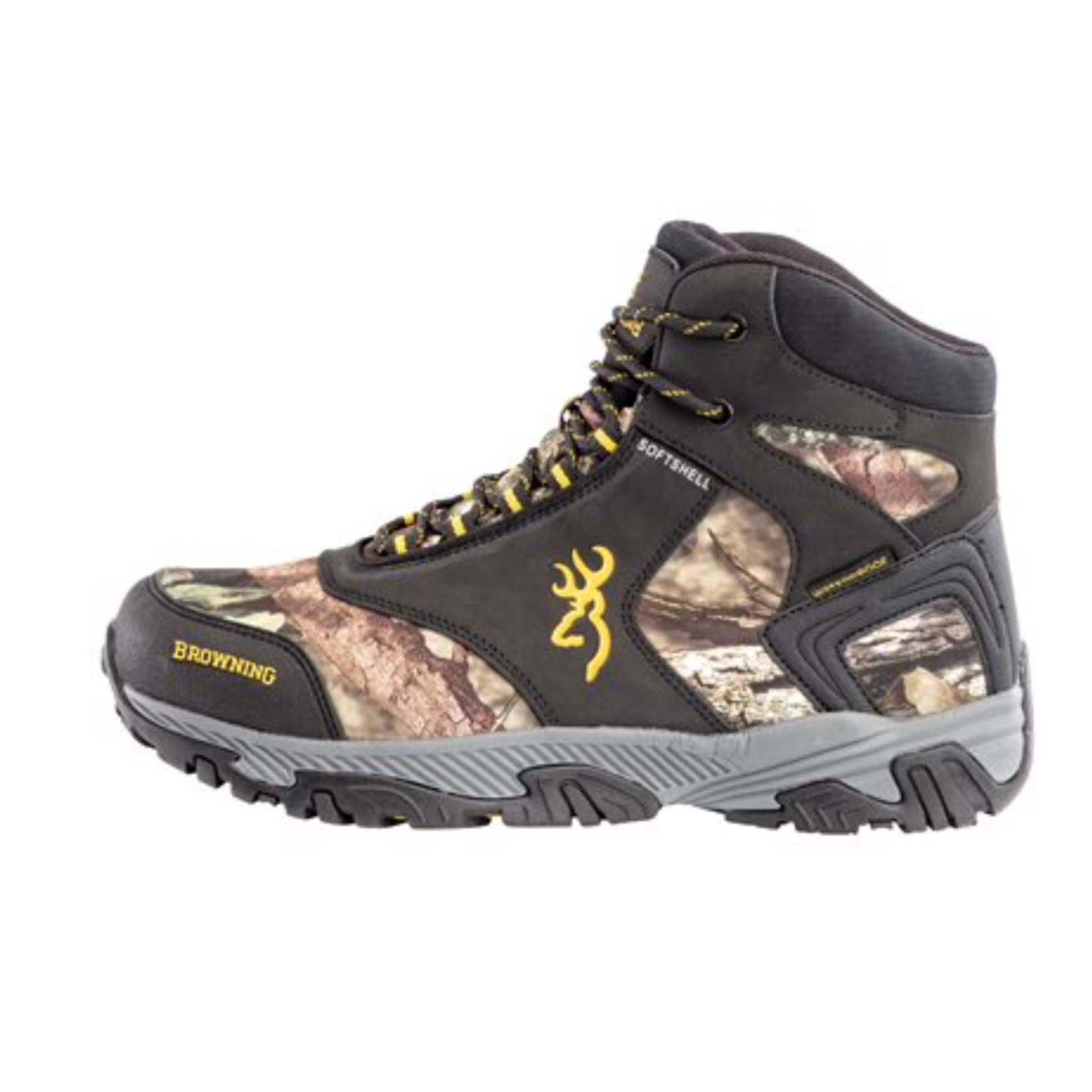 Sportchief Browning Men's Plainsman Mid Mossy Oak Waterproof Hunting Boot 538016-115