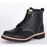 Canada West Canada West Men's Moorby Black Loggertan Leather 2830 2E