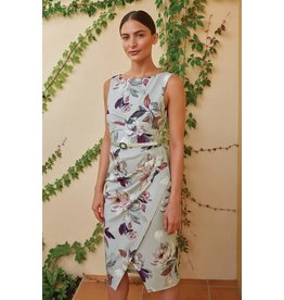Joseph Ribkoff Joseph Ribkoff Floral Dress with Belt