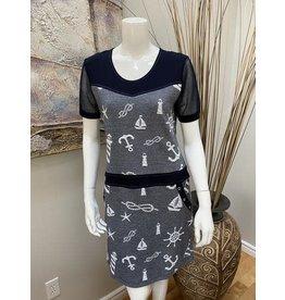 Dolcezza 3/4 Sleeve Dress