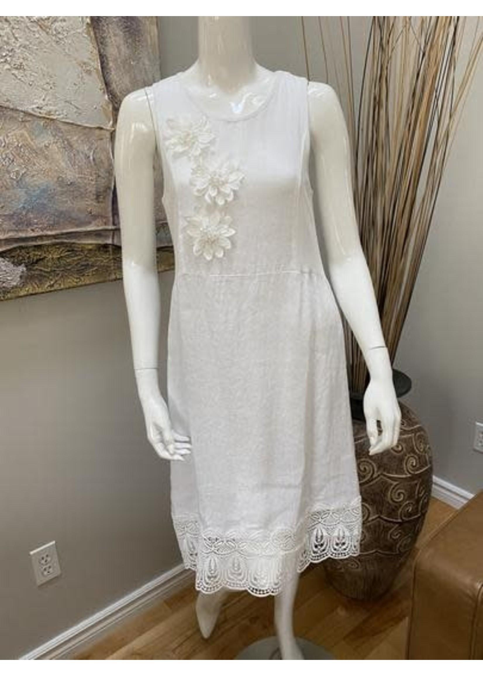 Angela Mara Sleeveless Dress