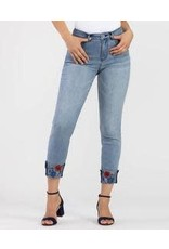 Tribal Tribal Cuffed Sequined Jean