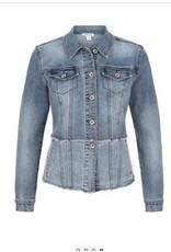 Tribal Tribal Frayed Jean jacket
