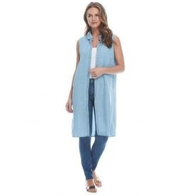 FDJ Sleeveless Jean Dress