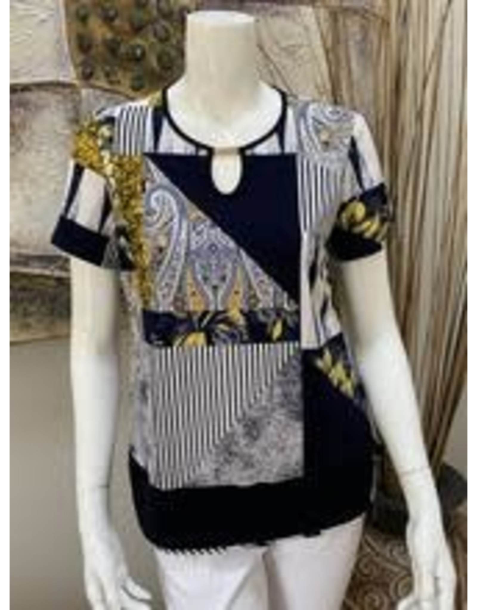 Bali Short Sleeve Top