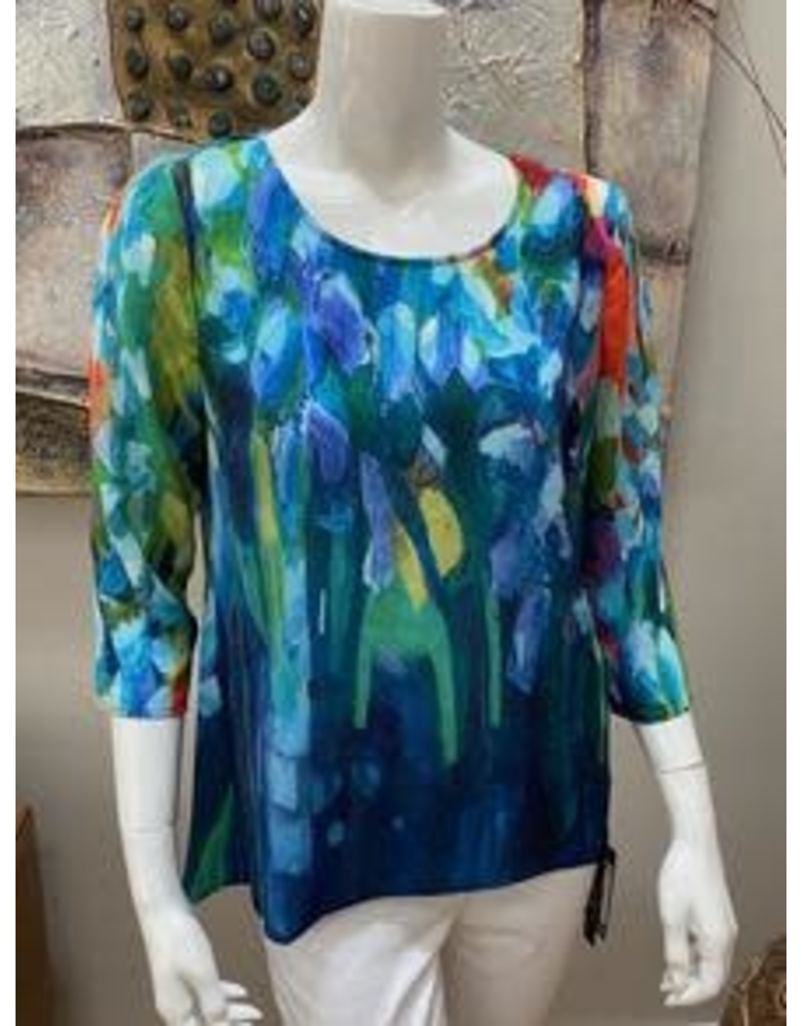 Claire Desjardins Multi-Colored Blouse